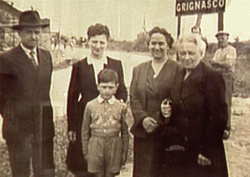1924 famiglia Franchi a Grignasco