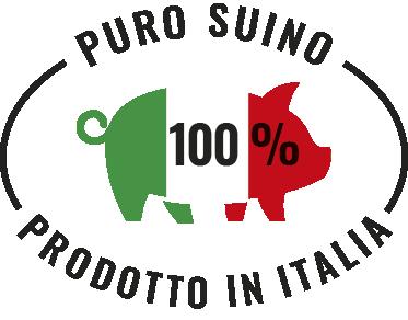 puro suino prodotto in Italia