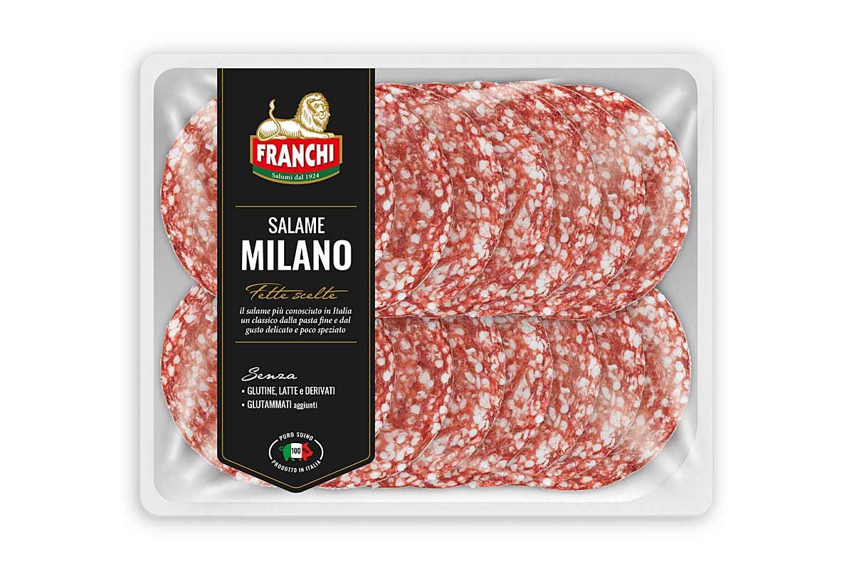 Salame Milano vaschetta