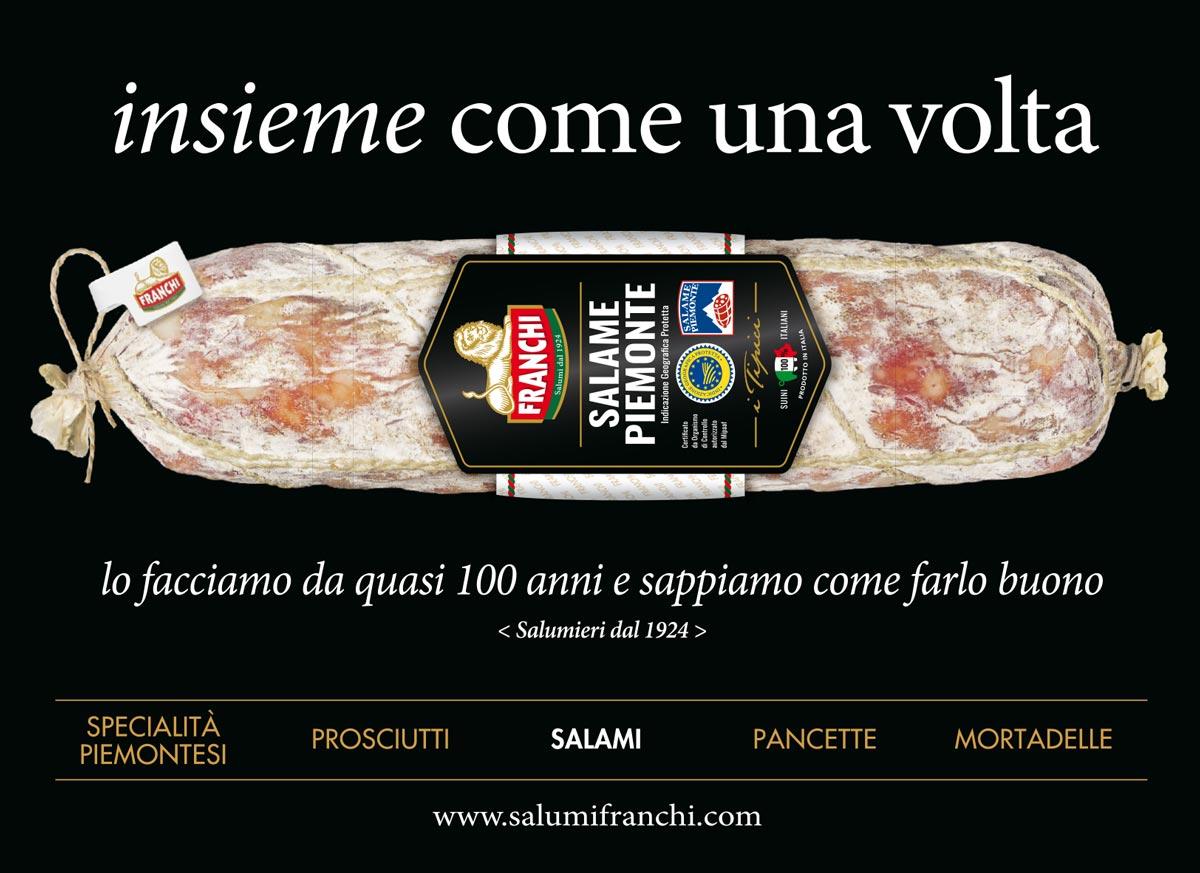 La stampa pagina salame Piemonte